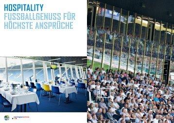 KONTAKT / Broschüre (pdf) - Swissporarena