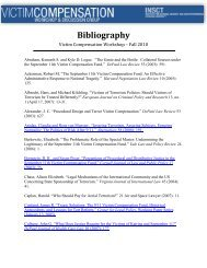 Bibliography - Institute for National Security and Counterterrorism