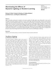 Illuminating the Effects of Dynamic Lighting on Student ... - SAGE Open