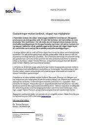 prm003 Gasledningar mellan lantbruk, skapar nya möjligheter - SGC