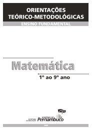 Matemática   Ensino Fundamental (1º ao 9º) - Secretaria de ...