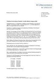 Flintholm Sten & Grus ApS Tilladelse til indvinding af råstoffer i ...