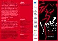 16.11. - 19.11. ´05 Wall-Kino, PFL, Staatstheater Kleines Haus