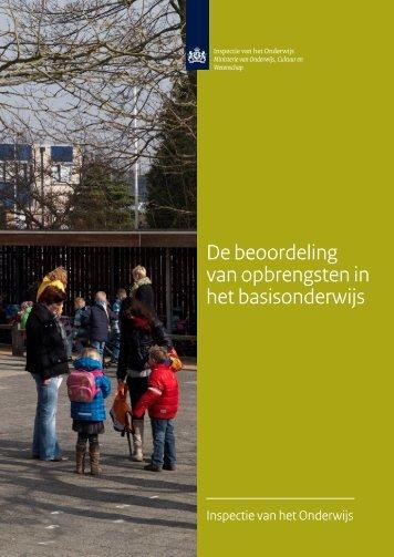 De beoordeling van opbrengsten in het basisonderwijs - Avs