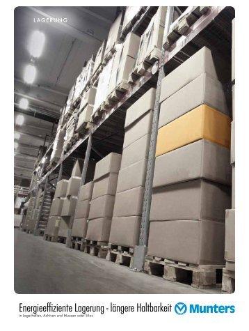 Trockenlagerung Energieeffiziente Lagerung - längere ... - Munters