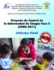 Informe Final Proyecto de Control de La Enfermedad de Chagas ...