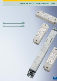electronic ballast for fluorescent lamps - bei ARDITI GMBH
