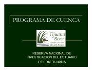PROGRAMA DE CUENCA - Tijuana Estuary : TRNERR