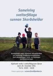 Borgarfjörður sunnan Skarðsheiðar