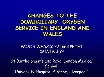 clinical component of the domiciliary oxygen service ... - Brit Thoracic