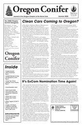 Summer 2005 - Oregon Sierra Club