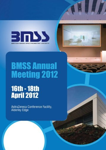 Poster Session - British Mass Spectrometry Society