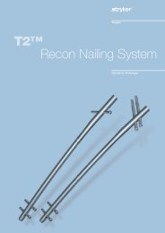 T2™ Recon Nailing System - Stryker do Brasil