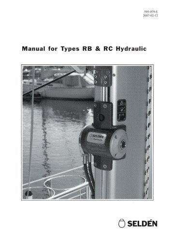 manual-for-types-rb-rc-hydraulic-seldaac