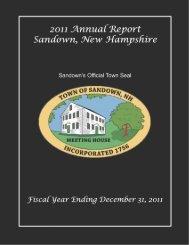 2011 - Sandown, New Hampshire