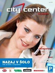 Avgust 2012 - Citycenter Celje
