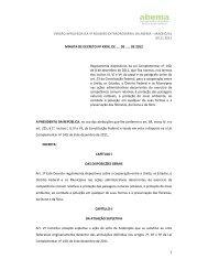 versão aprovada na 4ª reunião extraordinária da abema – maceió/al ...