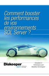 Comment booster les performances environnements SQL Server ?