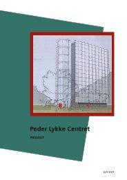 Peder Lykke Centret - Erhvervsstyrelsen