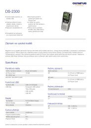 DS-2300, Olympus, Professional Dictation