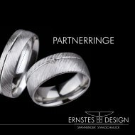 Ernstes Design Partnerringe