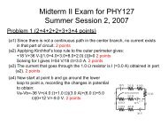 Midterm 2 solutions in 2007 (pdf)