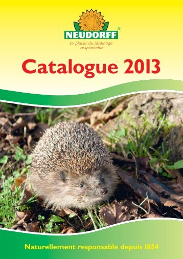 Catalogue 2013 - Neudorff