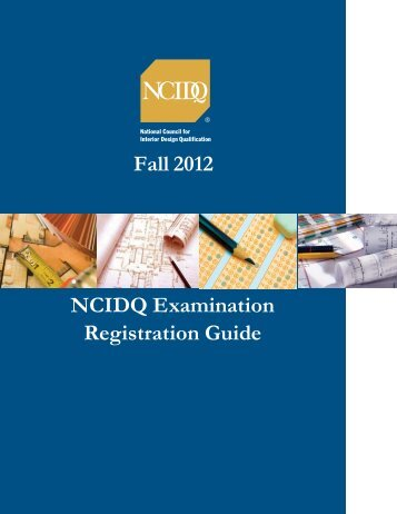 here NCIDQ National Council for Interior Design Qualification