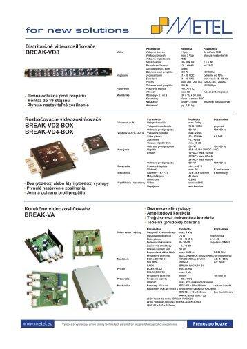 Katalog METEL SK_finall - EUROSAT SK PLUS
