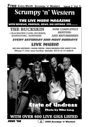State Of Undress - Mag 4 Live Music