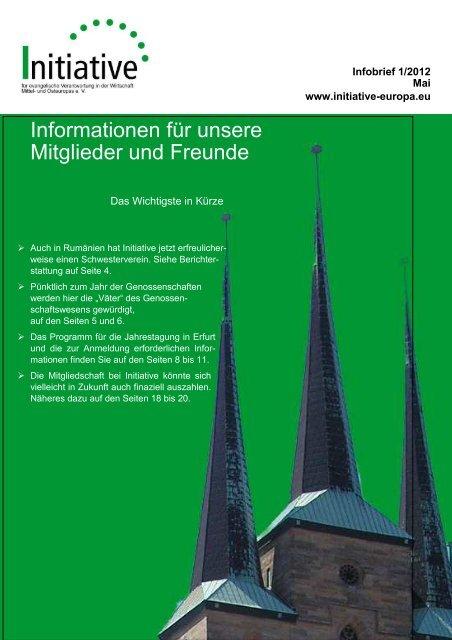 Infobrief 1/2012 - Initiative eV