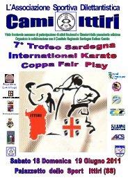 7° Trofeo Sardegna International Karate Sardegna Ittiri 18 ... - Fijlkam