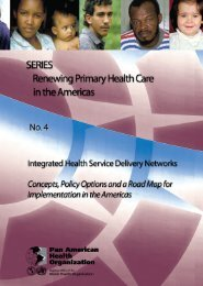 Integrated Health Service Delivery Networks - PAHO/WHO