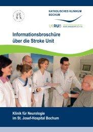 Was ist eine Stroke Unit? - Neurologische Klinik - Katholisches ...