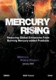 Reducing Global Emissions From Burning Mercury-added ... - GAIA