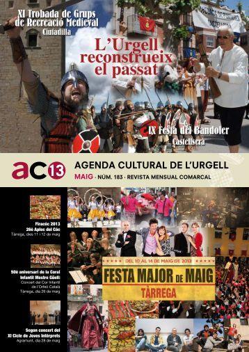 Maig 2013 (pdf) - Ajuntament de Tàrrega