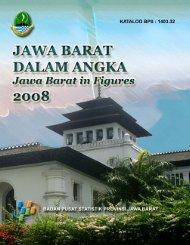 Jabar Dalam Angka Tahun 2008 - Pemerintah Provinsi Jawa Barat