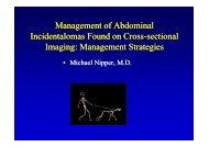 Management Strategies - Healthcare Professionals