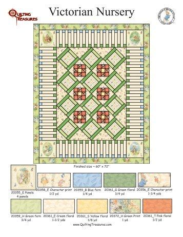 Victorian Nursery - Quilting Board