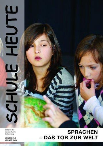 SPRACHEN – DAS TOR ZUR WELT - Bildung Leben