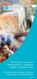 Prvé kroky pri používaní zdravotníckych a sociálnych služieb v ...