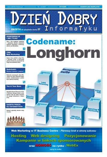 Codename: - Dzień Dobry Informatyku
