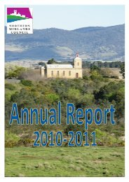 Annual Report 2010-2011 - Northern Midlands Council