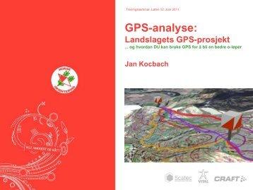 GPS-analyse