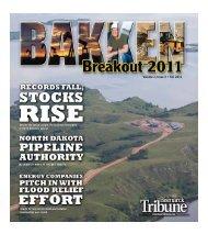 Volume 2, Issue 3 • Fall 2011 - North Dakota Petroleum Council
