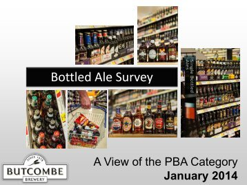 A View of the PBA Category Jan 2014
