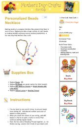 Hygloss Products 68060 ABC Beads /& Charms 60 Charms 60 Pieces