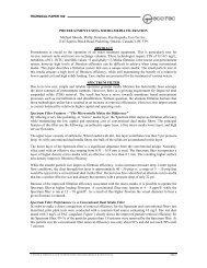 pretreatment using micro-media filtration - Eco-Tec