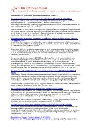 Voorbeelden van vrijgestelde steunmaatregelen onder de AGVV ...