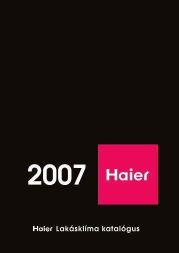 2007_Haier_katalógus